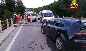 Tre veicoli coinvolti in un incidente a Bastia Mondovì
