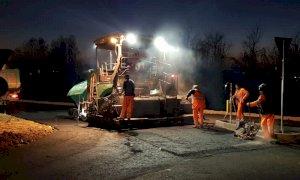 Chiusura notturna della provinciale tra Cuneo e Confreria per asfaltatura