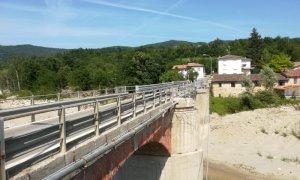Post alluvione: sopralluoghi di Protezione Civile e Provincia a Valdieri e Bagnasco