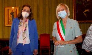 Alba, il vice ministro greco al Turismo Vicky Loizou accolto in città