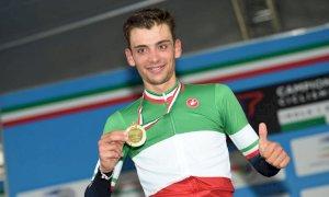 Ciclismo, l'albese Matteo Sobrero campione italiano a cronometro