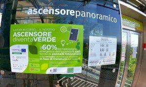 Cuneo, l'ascensore inclinato si affranca dalla rete elettrica nazionale per il 60% del suo fabbisogno