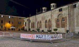"""""""Riprendiamoci Zennaro"""": a Cuneo e Alba gli striscioni di CasaPound"""