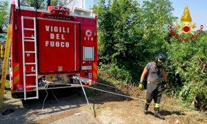 Garessio, allertati i soccorsi per una persona caduta da un trattore