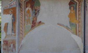 Peveragno, i volontari di San Rocco Da Val presentano gli affreschi di fine quattrocento dopo il restauro