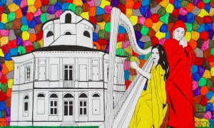 "Bra, a Palazzo Mathis si ammira ""La Divina Commedia braidese"""