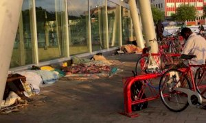 Cuneo, sgombero al Movicentro: denunciato un giovane