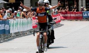 Luca Vergallito vince la granfondo