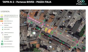 Boves, le chiusure delle strade per la partenza del Giro d'Italia Donne