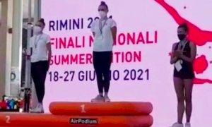 Giovane buschese è campionessa italiana di ginnastica ritmica