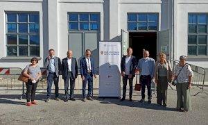 Nuove linee vaccinali per le aziende a Palazzo Bertello a Borgo San Dalmazzo
