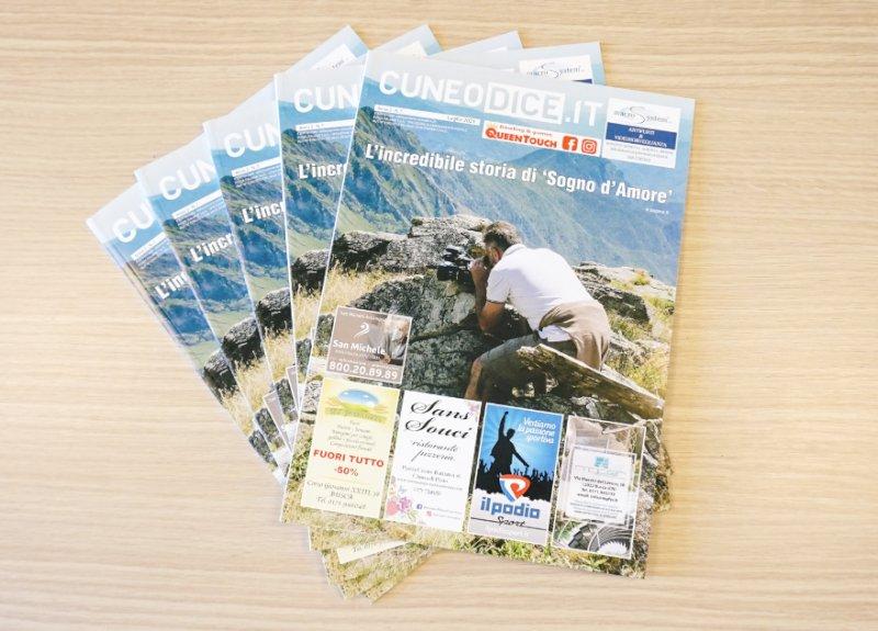 La rivista mensile di Cuneodice.it si rinnova e punta sulla qualità