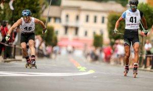Skiroll, Coppa Italia: a Cicagna Emanuele Becchis vince la Sprint, Elisa Sordello la Mass Start