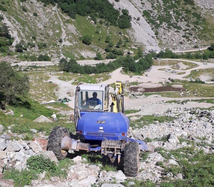 Ripristinato l'inizio del sentiero diretto per il rifugio Genova