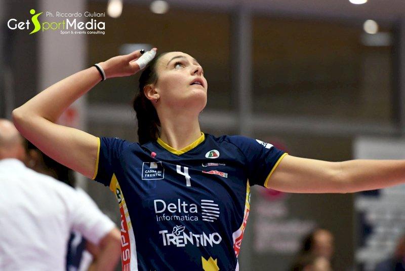 Pallavolo A2/F: nuovo rinforzo per la Lpm Bam Mondovì, ecco Francesca Trevisan