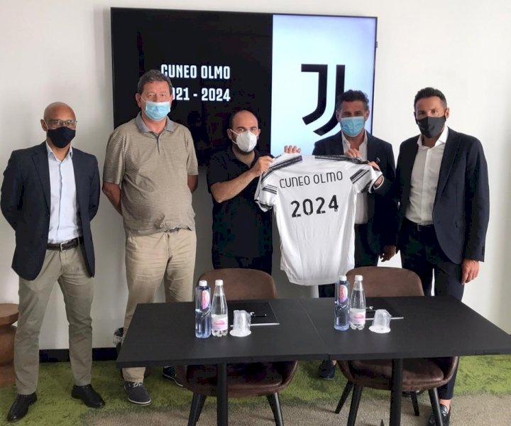 Il Cuneo Olmo entra a far parte delle Scuole Calcio Juventus