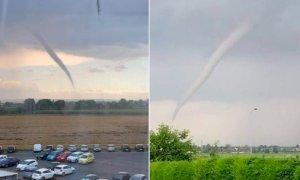 Il maltempo sferza la Granda: tra Marene e Cavallermaggiore spunta un tornado