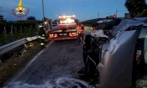 Due auto coinvolte in un incidente a Costigliole Saluzzo