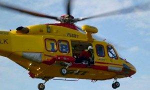 Grave un motociclista 26enne, ferito in un incidente a Entracque