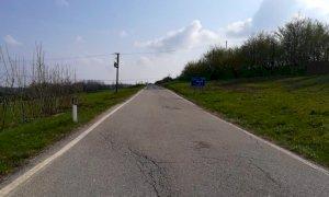 Intervento della Provincia per consolidare la strada tra Bossolasco e Murazzano