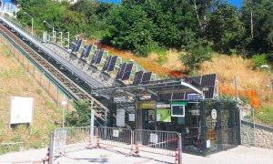 Cuneo, l'ascensore inclinato chiude martedì 13 e mercoledì 14 luglio per manutenzione ordinaria