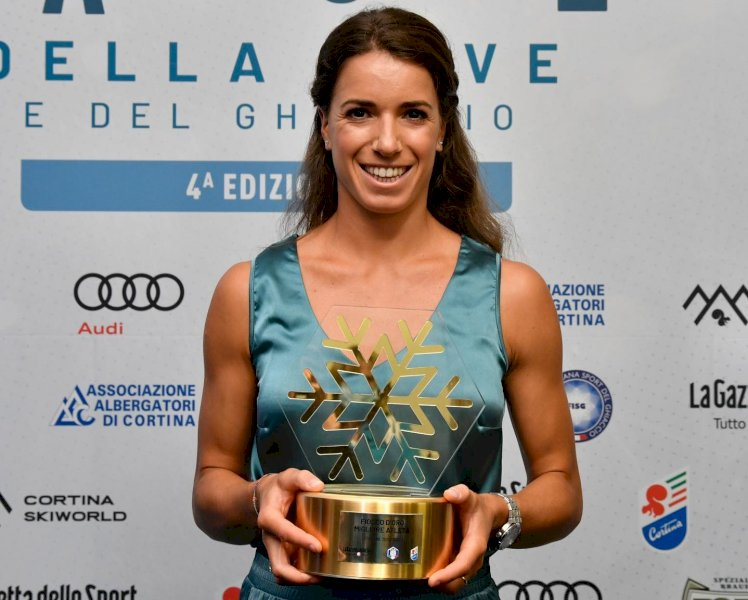 """A Marta Bassino il """"Fiocco d'oro"""" come atleta dell'anno a Cortina"""