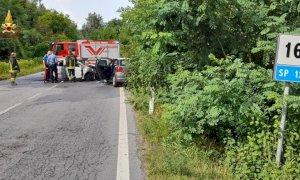 Un morto e due feriti in un incidente sulla provinciale di Carrù