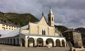 Mercoledì 28 luglio lavori di bitumatura sulla provinciale per Sant'Anna di Vinadio