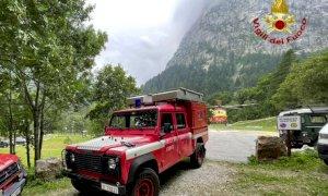 Valle Gesso: precipita dalla Cima di Fremamorta, grave un alpinista ligure