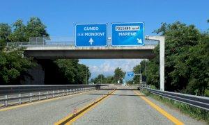 La strada provinciale 184 riaperta nel tratto Mellea-Fossano dopo l'abbattimento del viadotto
