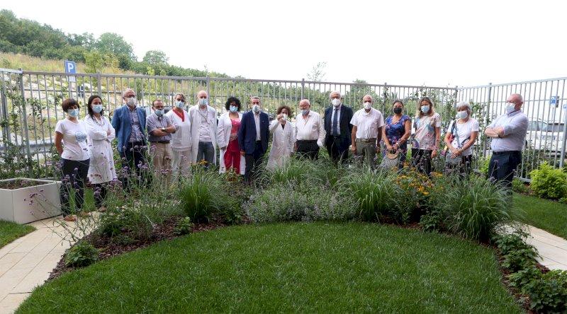 All'ospedale di Verduno il primo giardino terapeutico psichiatrico d'Italia