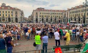 Cuneo, nuova manifestazione contro il Green Pass: