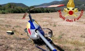 Elicottero monoposto precipita nel Pisano, ferito un cuneese