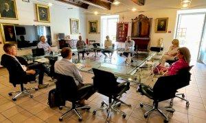 Alba, visita in Municipio dell'assessore regionale all'Agricoltura della Val d'Aosta