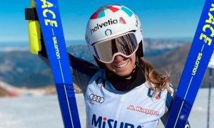 Sci alpino, allenamenti in Belgio per Marta Bassino