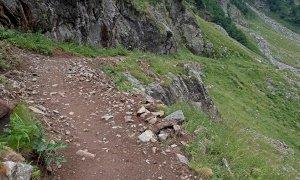 Nel Parco Alpi Marittime avanza senza sosta la manutenzione dei sentieri