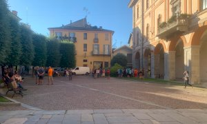 Cuneo, la manifestazione alla vigilia dell'entrata in vigore del Green Pass obbligatorio resta un'idea