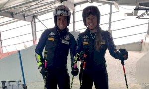 Slalom e prove di parallelo per Marta Bassino nell'impianto al coperto in Belgio