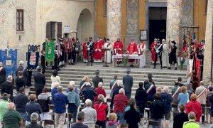 In tanti alla festa patronale al santuario di San Magno nel ricordo dei