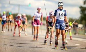 Skiroll, primo podio in carriera nella categoria Senior per Elisa Sordello