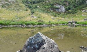 Ripulito il sentiero per il lago di Esterate