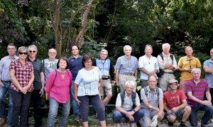 Geologi olandesi e italiani in visita al Museo del Piropo di Martiniana Po