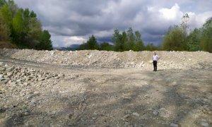 Fontanelle di Boves, iniziati i lavori per la bonifica di una discarica lungo il torrente Gesso