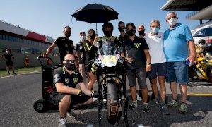 Motociclismo: nuovo doppio podio per i piloti della Black Racing al Mugello