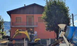 Rifreddo, partiti i lavori di riqualificazione dell'area esterna dell'asilo comunale