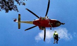 Escursionista colpito da malore al Pian delle Gorre, interviene l'eliambulanza