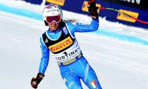 Dieci giorni di allenamenti sulle Alpi svizzere per Marta Bassino