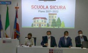 """Scuola, Cirio: """"In Piemonte tamponi gratuiti per la ripartenza"""""""