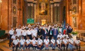 Bra, al Santuario della Madonna dei Fiori la Messa con gli Alpini in ricordo dei Caduti di tutte le guerre