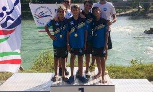 A Verona un weekend d'oro per il Granda Canoa Club